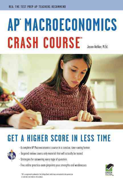 Ap Macroeconomics Crash Course By Welker, Jason